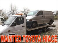 Toyota Hiace Power van WAnted!!!