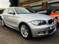 BMW 120D M Sport 2010 2 OWNER 5 doors SAT NAV LEATHER px possible