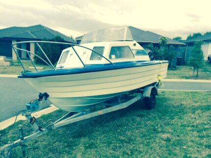 17Ft Fishing boat 150Hp Johnson Full service done Mango Hill Pine Rivers Area Preview