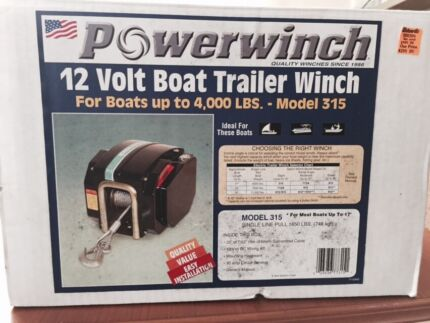 Powerwinch trailer winch  Hawthorndene Mitcham Area Preview