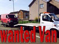 WANTED!!! FIAT DUCATO VANS