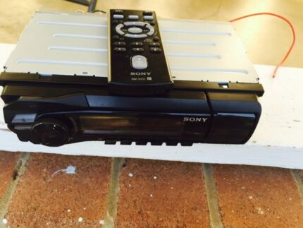 Sony digital media player with remote control  Casula Liverpool Area Preview