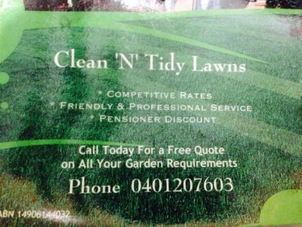 Lawn mowing  Tanilba Bay Port Stephens Area Preview