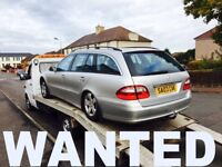 WANTED !!! MERCEDES BENZ CARS JEEP VANS ANY CONDITION