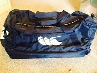 Blue Canterbury sports bag