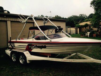Wanted: Lewis ski boat