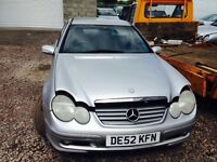 Mercedes C220 2002 year - Parts Available