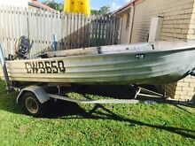 3m Brooker  tinnie for sale on redco trailer Sippy Downs Maroochydore Area Preview