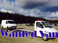 Mercedes sprinter,vito van wanted!!!