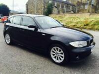 BMW 1 Series Diesel Black M sport Specs 5 Door. 1 Lady Owner Excellent Runner. Swap P.x Welcome