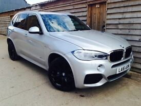 BMW X5 4.0d M SPORT 2016-16 REG 7 SEATER PAN ROOF HEAD UP DISPLAY TOW BAR