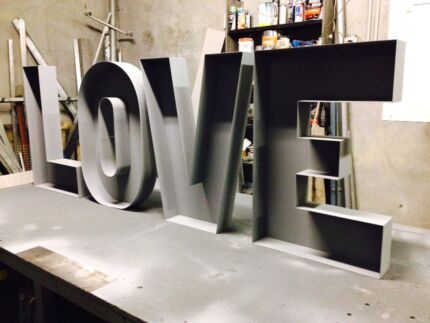 Custom made marquee letters  for Sale or Hire Taree Greater Taree Area Preview