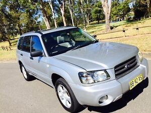 2003 Subaru Forester XS Luxury AWD Auto Silver Moorebank Liverpool Area Preview