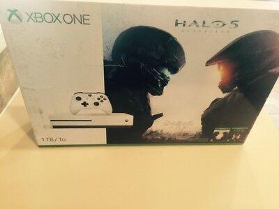 New Xbox One S 1TB Halo Collection Game soft console Microsoft xboxone