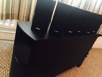 BOSE Acoustimass 15 Series II Home Entertainment Speaker System 6.1 & Pioneer VSX-D814 Amp
