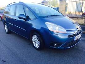CITREON C4 GRAND PICASSO 1.6 DCI 2009 7 EXCL