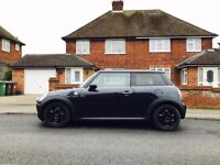 2008 Black Mini One Cooper 1.4, Full Service History, New 1 Year MOT, Petrol, Manual, 130k Miles