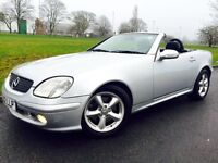 Mercedes-Benz SLK 3.2 SLK320 ##AUTO ##SERVICE HISTORY ##ALLOYS ##LEATHER INTERIOR ##SUMMER