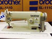 NEW BROTHER INDUSTRIAL LOCKSTITCH SEWING MACHINE COMPLETE BEST QUALITY
