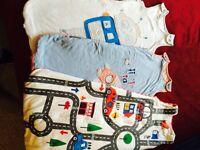 Three Autumn/winter baby sleeping bags 12-18 months +