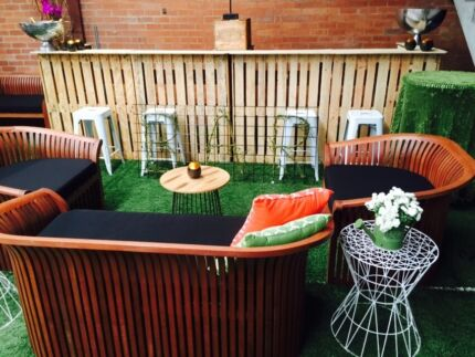 Pallet Bar And Outdoor Furniture For Hire Perth