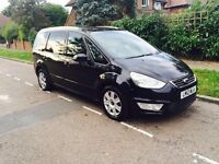 2012 FORD GALAXY DIESEL AUTOMATIC 7 SEATER YEARS PCO UBER XL READY
