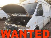 MERCEDES SPRINTER 310D - 312D - 412D ANY CONDITION WANTED