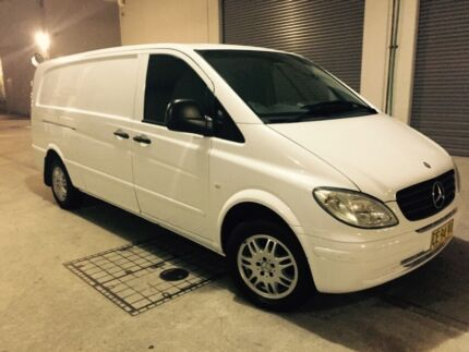 Mercedes Benz Vito 115 CDI LWB 2004 Turbo Diesel Auto Dural Hornsby Area Preview