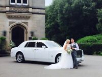 WEDDING CAR HIRE ROLLS ROYCE PHANTOM ..ROLLS ROYCE GHOST..BENTLEY FLYING SPUR ..LIMO HIRE, CAR HIRE
