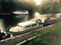 Boat 23ft Norman Cabin Cruiser for sale working oven nice inside and out