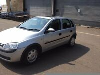 Vauxhall corsa, 5 door 02 plate