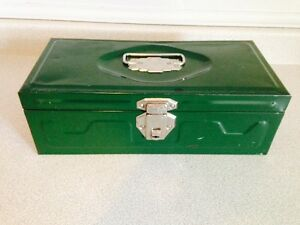 Vintage Steel Union Utility Chest / Tackle Box