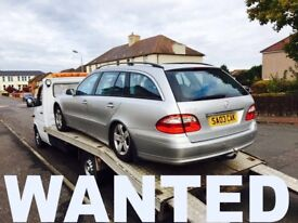 WANTED !!! MERCEDES BENZ CARS ANY CONDITION