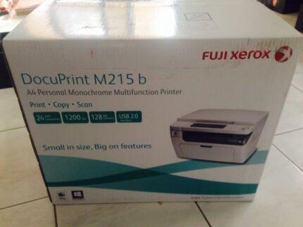 Fuji Xerox m215b mono multifunction printer  Modbury Tea Tree Gully Area Preview