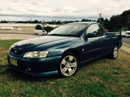 Holden Commodore VY Series 2 2003 Ute Auto Low 143000 Klms Castle Hill The Hills District Preview