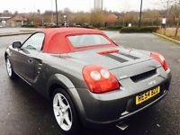 TOYOTA MR2 1.8 VVT-i Roadster Red 2dr (silver) 2004