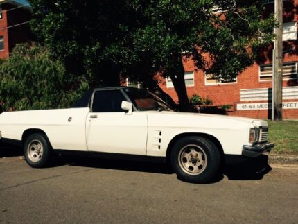 HOLDEN UTE HZ KINGSWOOD 1978 V6 AUTO NSW ENGINEERED. Eastlakes Botany Bay Area Preview