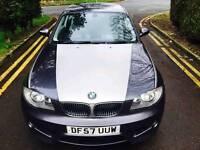 BMW 1 Series 118i SPORT AUTO* M SPORT SPECS*LONG MOT * FULL DEALER HISTORY (SWAP P.X WELCOME)