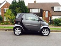 2006 Black & Grey Smart Fortwo, 0.7L, Auto, Petrol, 2 Owners, MOT, 60k Miles, £30 Tax, Automatic