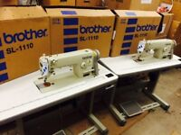 BROTHER INDUSTRIAL SEWING MACHINE SL 1110-3 WITH WARRANTY