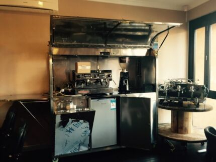 Cheap Brand New COFFEE CART Fully Lockable Full Stainless Marrickville Marrickville Area Preview
