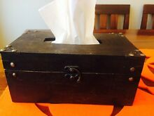 Vintage style Wooden Tissue storage box holder Westmead Parramatta Area Preview