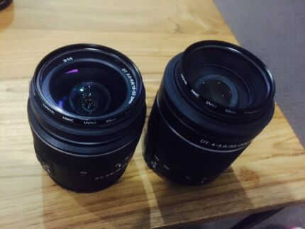 Sony sal1855 sal55200 lenses Oxley Brisbane South West Preview
