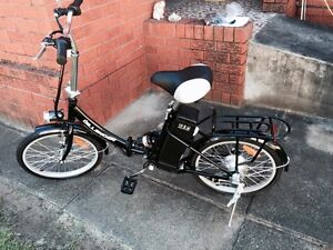 Cheetah Dillinger Electric folding Bike. South Windsor Hawkesbury Area Preview