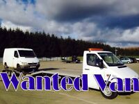 Mercedes sprinter van wanted!!!any age