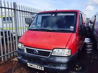 Fiat Ducato 2003 year - Parts Available - Engine - Gearbox