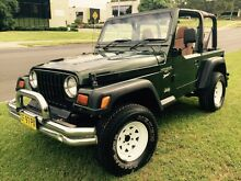 Jeep Wrangler Sport 1997 Soft Top 4x4 Manual Low Klms Dural Hornsby Area Preview