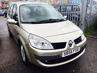 RENAULT GRAND SCENIC 1.6 PETROL MANUAL DYNAMIQUE 7 SEATER ALLOYS AIRCON DRIVE NICE CLEAN CAR 2006