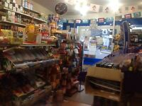 NEWS AGENT SHOP WITH A1 AND A2 PERMISSION TO SALE IN FOREST GATE