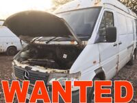 MERCEDES SPRINTER 308D - 310D - 312D -412D ANY CONDITION WANTED